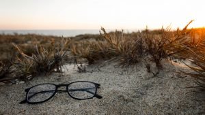 glasses-on-beach